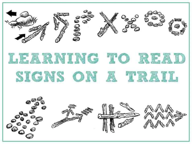 Leaving and following tracking signs is a brilliant outdoors family activity, and a great way to entice kids outside - I can't think of one child who doesn't love following clues, and since it's a visual activity that works with symbols, even the youngest members of your family will be able to join in!