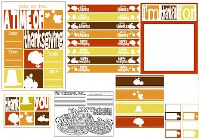 thanksgiving free printable tags