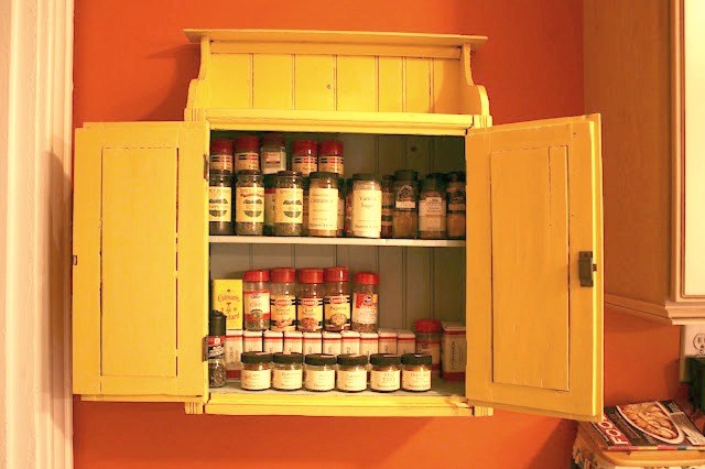 wall mounted spice racks australia