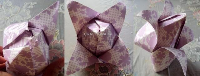 origami-paper-folding-tulips