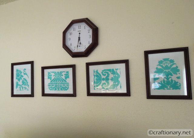stencil divide frames 4
