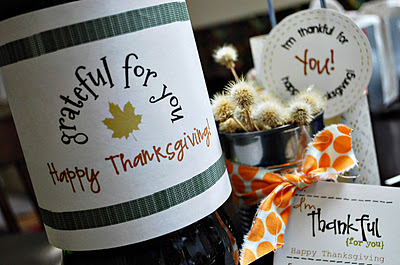 tags for thanksgiving gifts