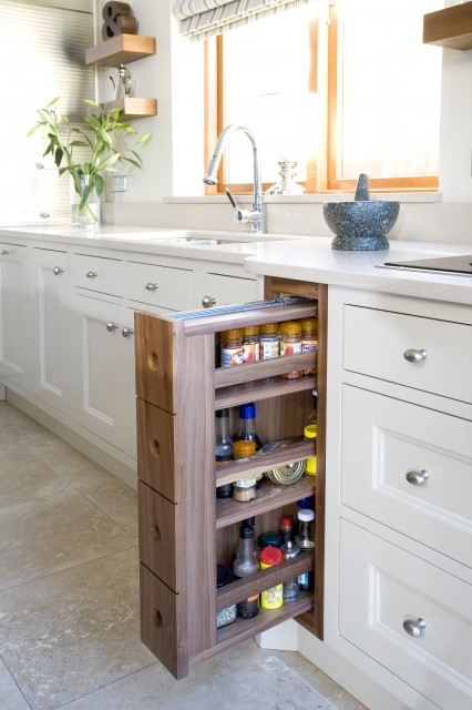 DIY spice cabinets