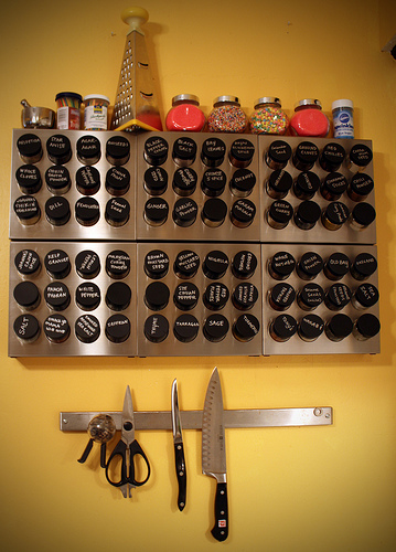 to organize spices storage solution