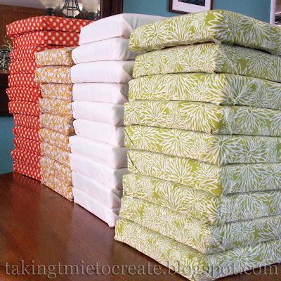Headboard fabric patchwork