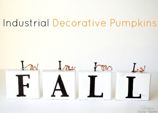 industrial decorative pumpkin