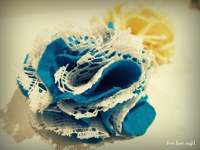 DIY handmade flower