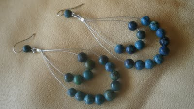 turquoise-earrings-diy