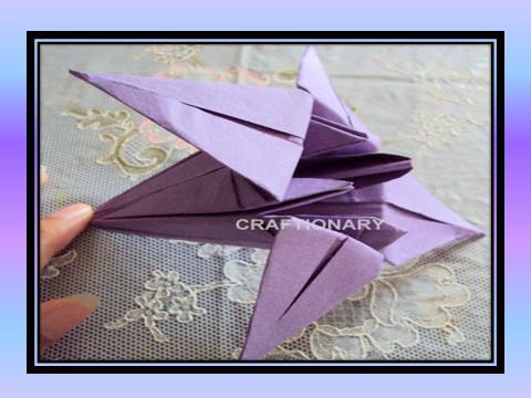 paper-folding-origami-tulip-flower