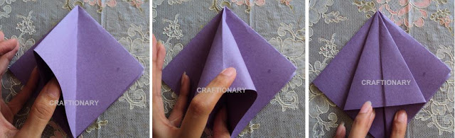 tulips-paper-folding-pencil-holder