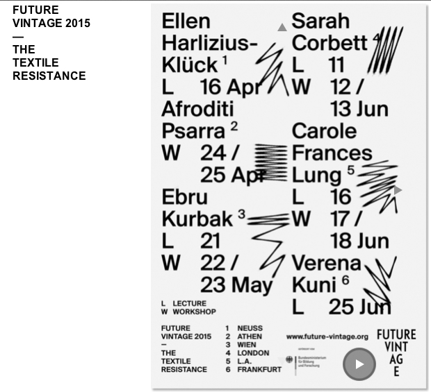 Lecture & workshops in Bauhaus University, Germany