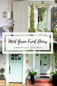 A Mint Green Front Door (+ 10 More Gorgeous Examples ...