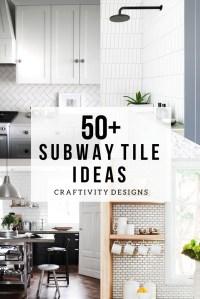 50+ Subway Tile Ideas + Free Tile Pattern Template ...