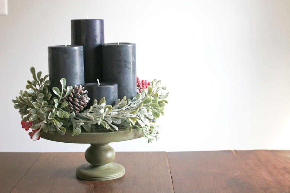 How To Make A Beautiful DIY Modern Advent Wreath
