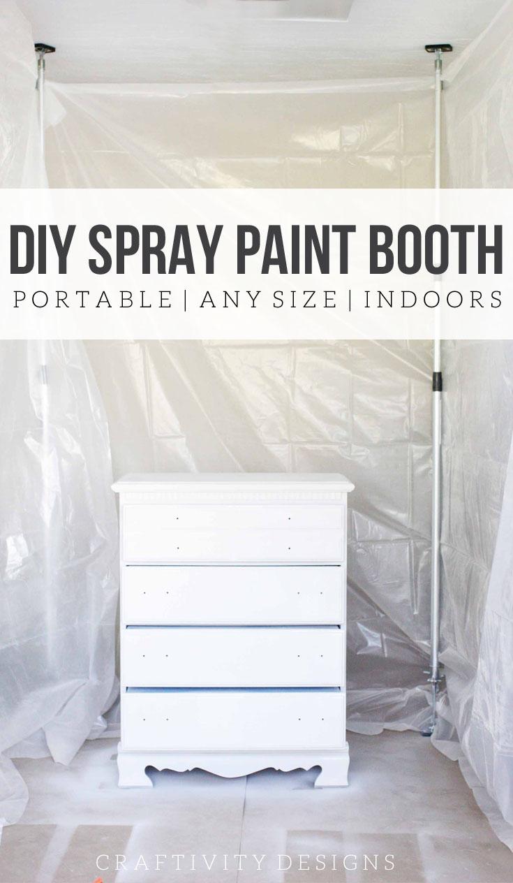 Diy Spray Tent