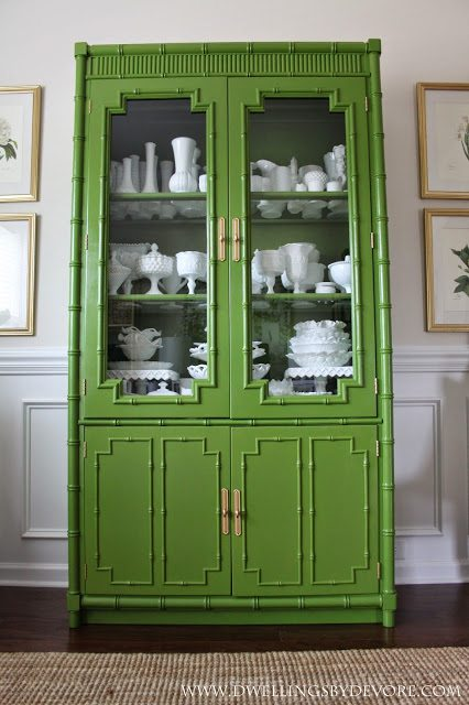 20 Green Painted Furniture Makeovers Craftivity Designs