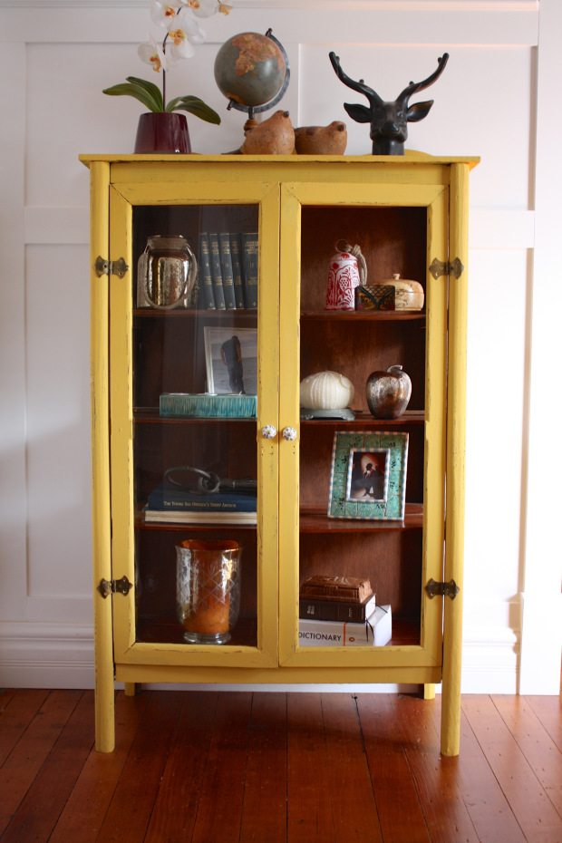 11 Yellow Painted Furniture Makeovers  Craftivity Designs