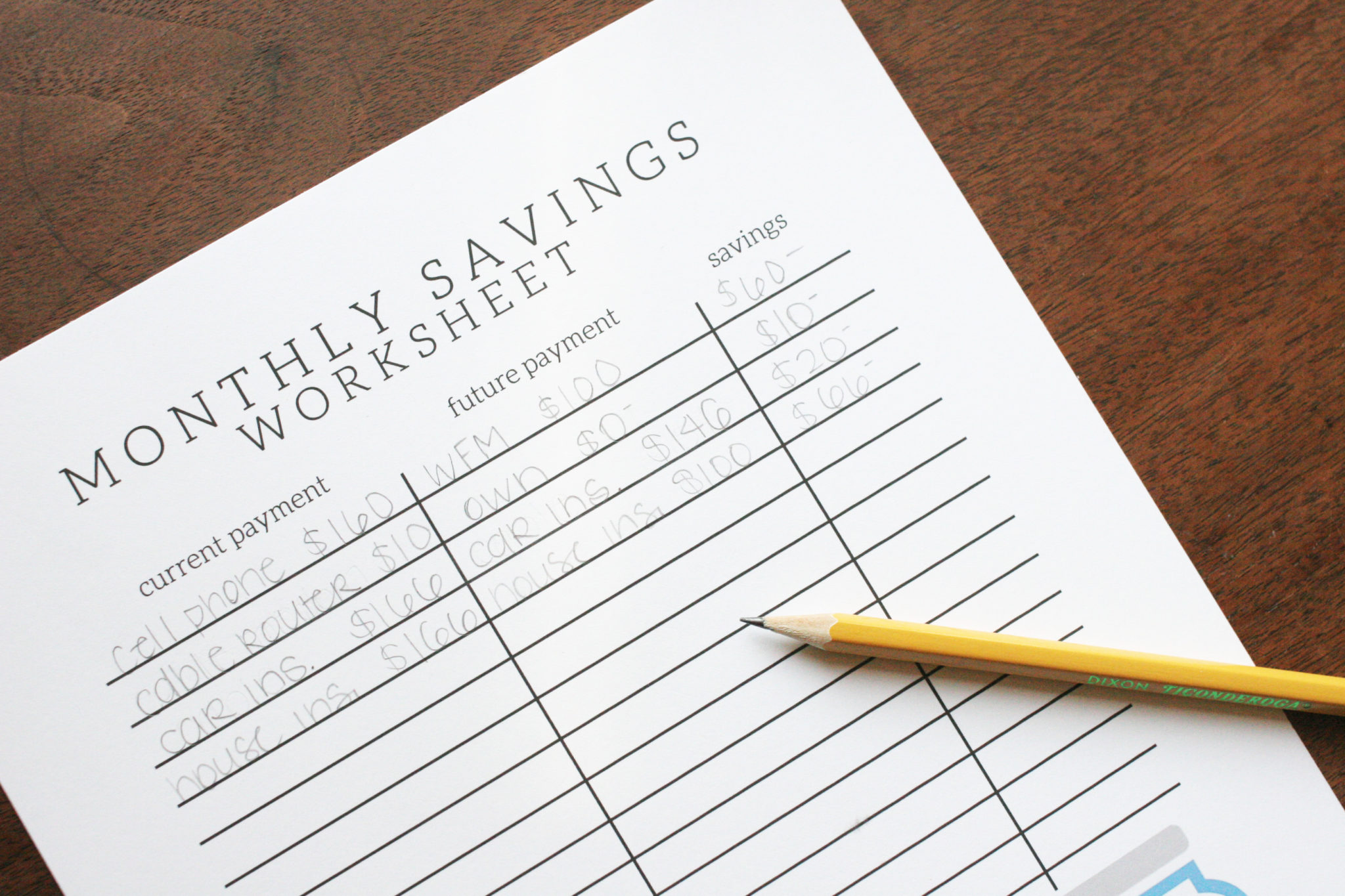 Organize Your Finances With A Free Savings Tracker Craftivity Designs