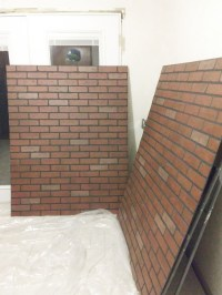 How to Install a Faux Brick Backsplash  Craftivity Designs