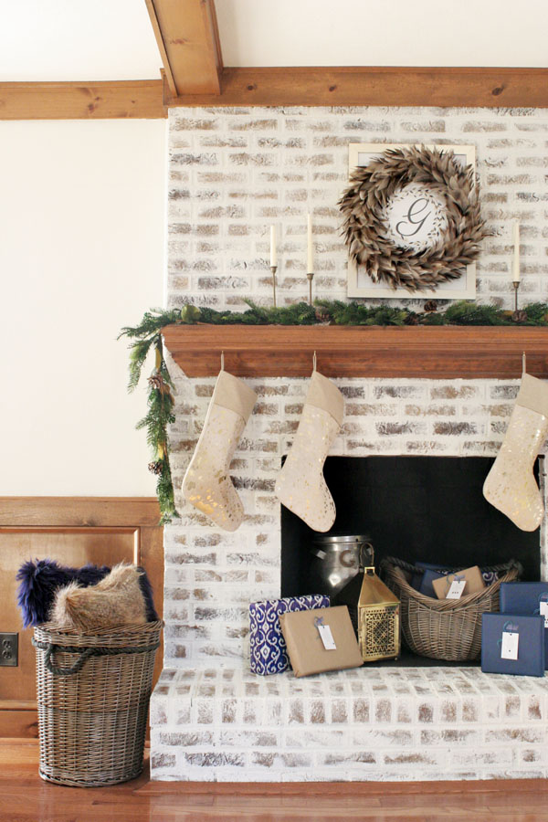 How To German Schmear Brick Mortar Wash Fireplace
