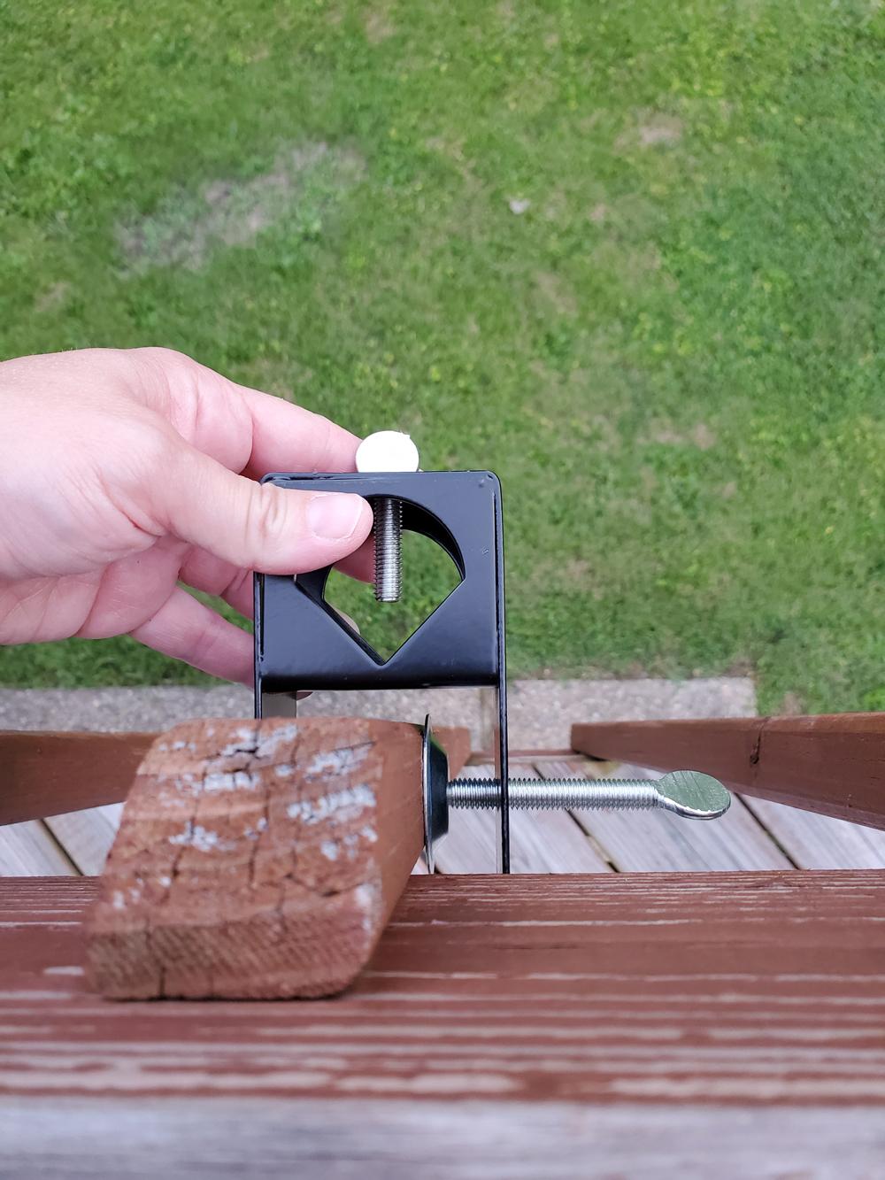 Tiki Torch Holder Deck