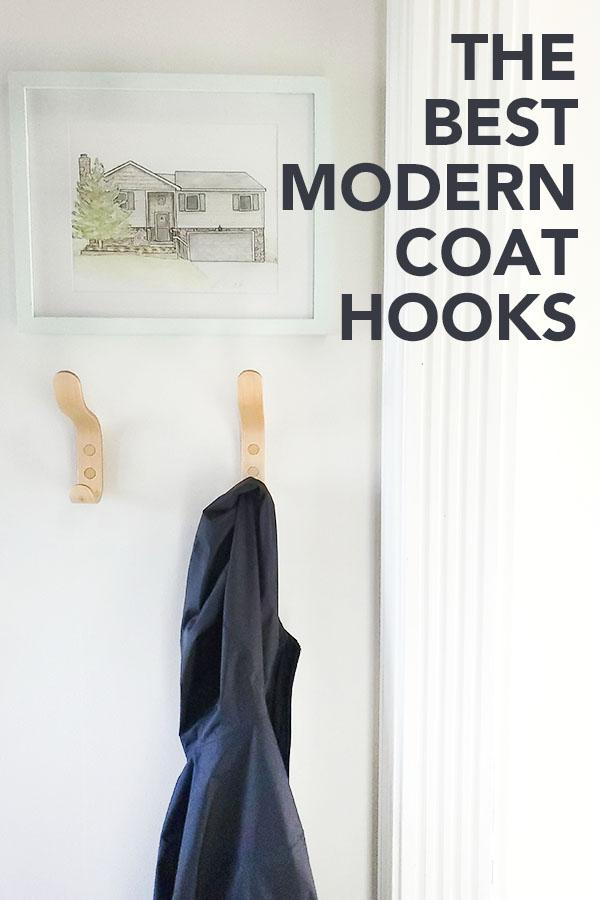 the 15 best modern coat hooks for your