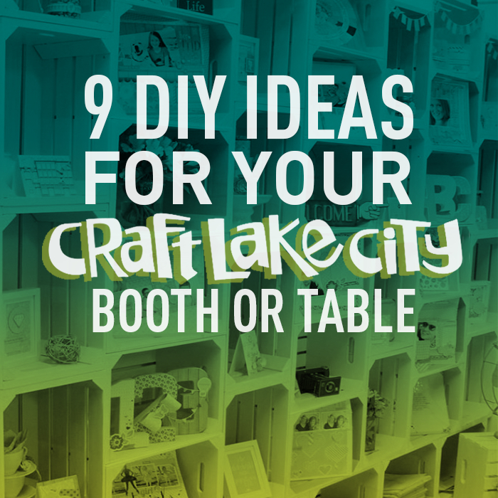 9 diy ideas for your clc booth or table