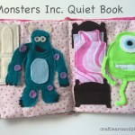Monsters Inc. Themed Quiet Book