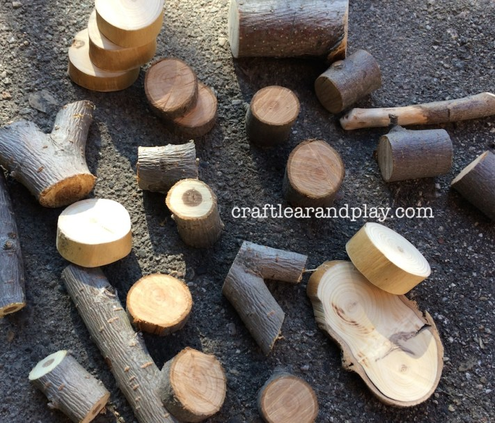 Wooden Blocks Cutted