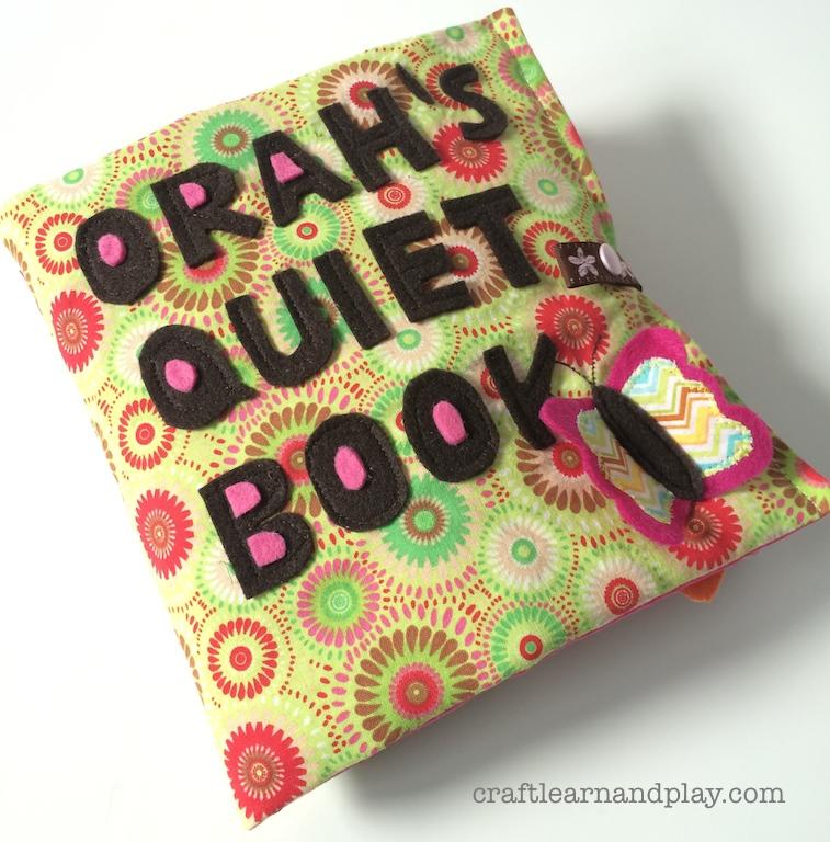 custom made quiet book