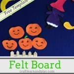 Halloween Flannel Board – Five Little Pumpkins