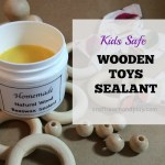 Here is how to make kids safe wooden toys sealant