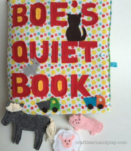 Farm Animals Quiet Book Cover