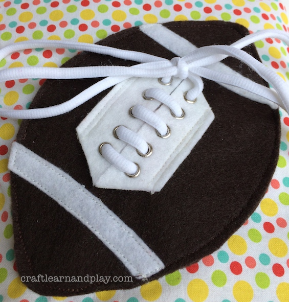 Felt Football Ball Quiet Book