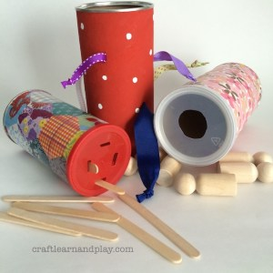 DIY toys for fine motor development