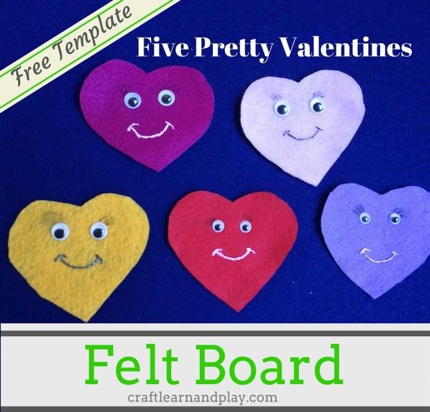 Five Pretty Valentines