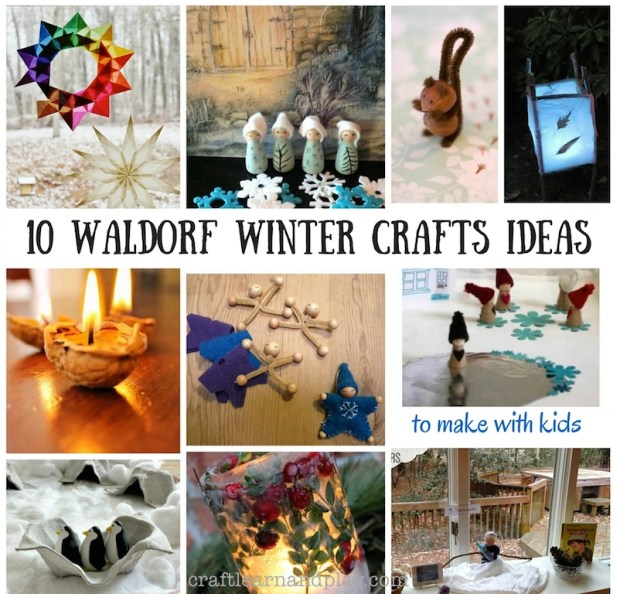 waldorf winter craft activities for kids
