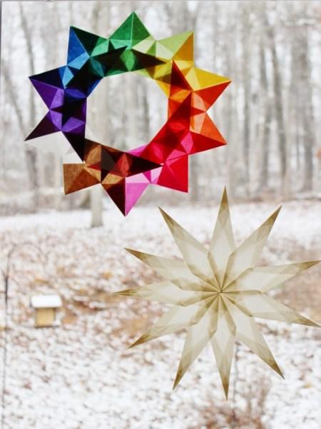 window star wreath tutorial 045