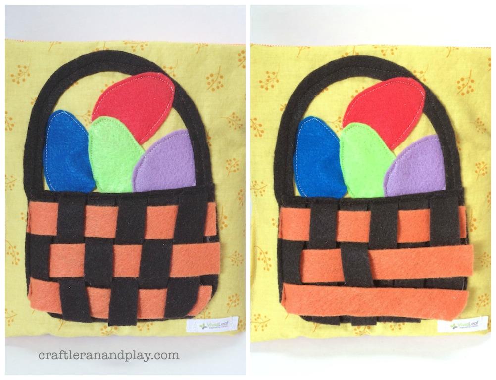 easter basket activity book