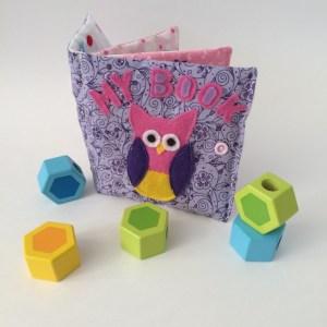 soft sensory baby book