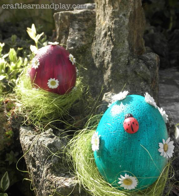 Easter-styrofoam-eggs-decoration