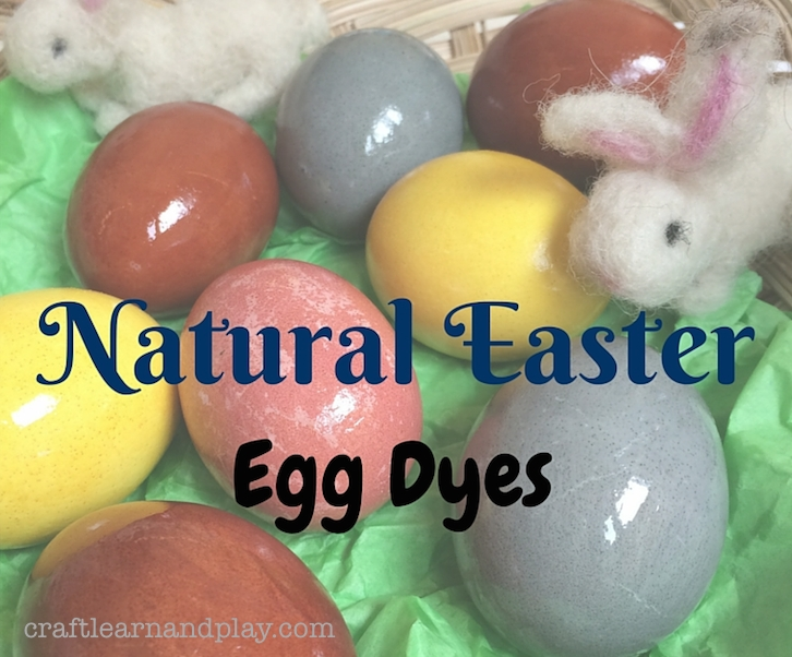 Natyrally Dyed Easter Eggs