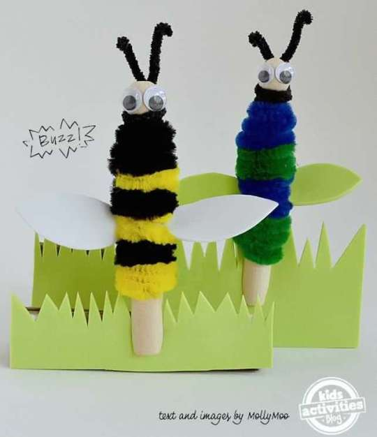 clothespeg-bees-after-school-craft