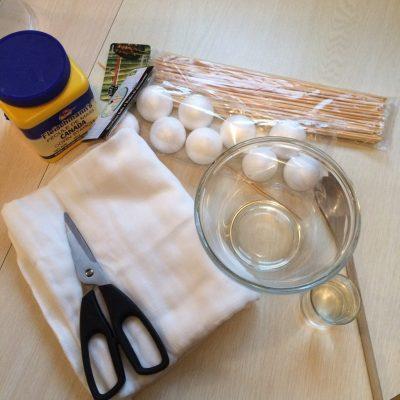 supplies for halloween crafts