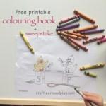 The WayZoo – free colouring book printable + sweepstake