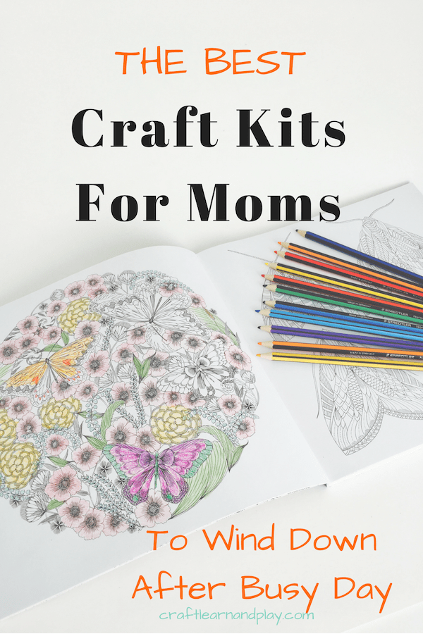 Craft kids perfect for mom to wind down after busy day. Find great ideas for new creative craft projects or start a new hobby. Click to see ideas.