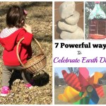 7 powerful ways to celebrate Earth day with children {printable with 50+ outdoor family activities}