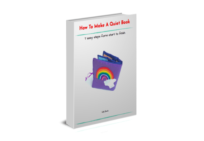 How to make a quiet book - PDF guide