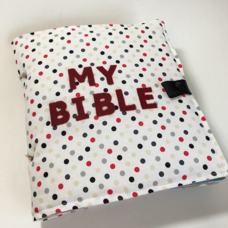 My Bible Quiet Book Sewing Pattern