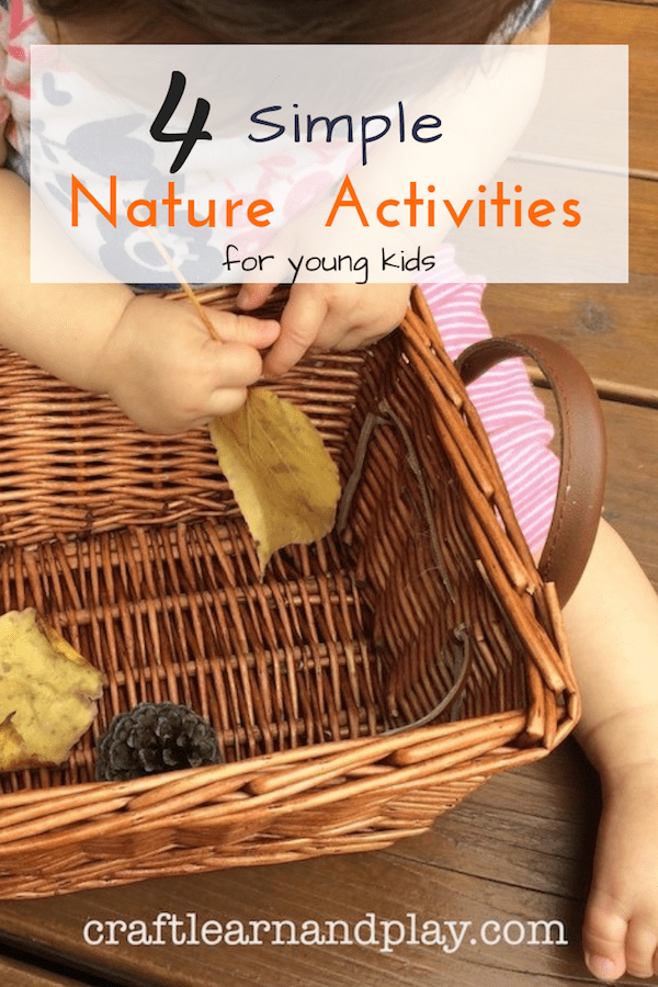 Get inspired with these simple fall activities for kids. Take them outside to explore nature and play along while learning about nature. Click for ideas. #kidsactivities #fall #natureactivities #natureplay